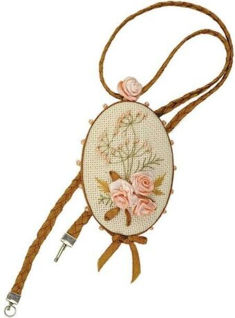 Pendant Vintage - Cross Stitch Kit