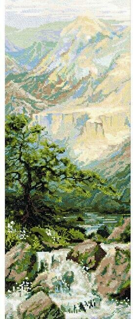 Mountain River II Landscape - Cross Stitch Kit