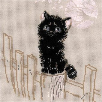 Dreamer - Cat Cross Stitch Kit