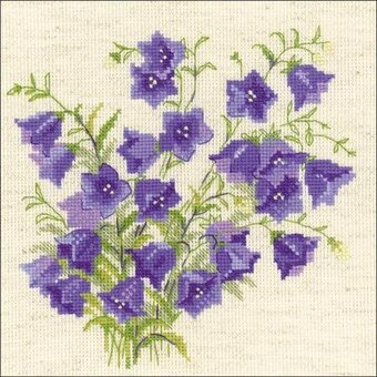 Bellflower - Flowers Cross Stitch Kit