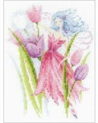 Spring Breeze Fairy - Cross Stitch Kit