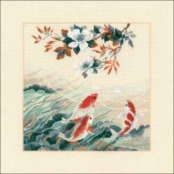 Dancing Fish - Cross Stitch Kit