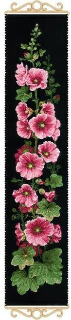 Mallow Flowers - Cross Stitch Kit