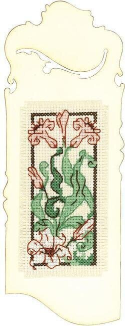 Graceful Lily Bookmark - Cross Stitch Kit