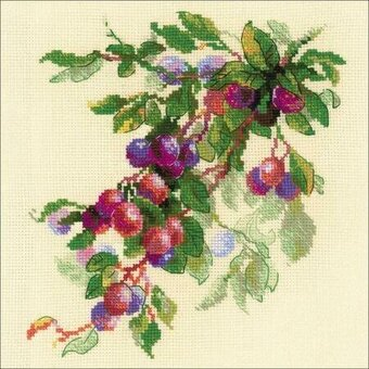 Branch Of Plum - Cross Stitch Kit