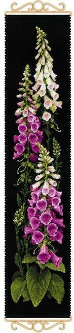 Foxgloves Flowers - Cross Stitch Kit