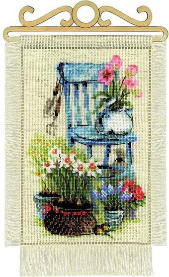 Cottage Garden - Cross Stitch Kit