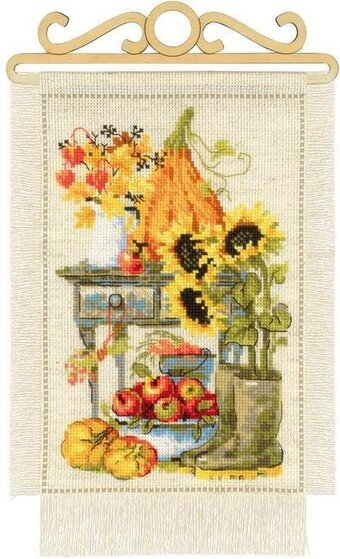 Autumn Cottage - Cross Stitch Kit
