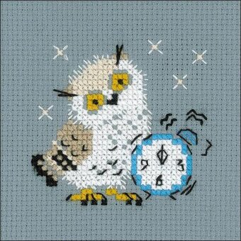 Alarm Clock - Cross Stitch Kit