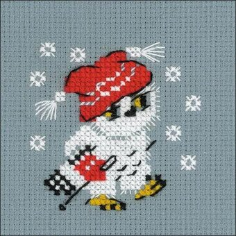 Snow - Cross Stitch Kit