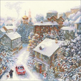 Snowy Winter - Cross Stitch Kit