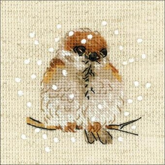 Sparrow - Cross Stitch Kit