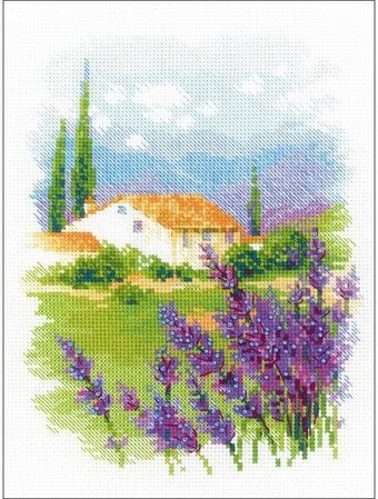 Farm In Provence - Cross Stitch Kit