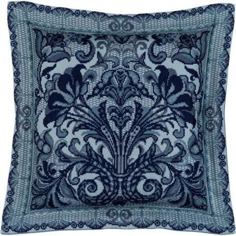 Spanish Lace Cushion - Cross Stitch Kit