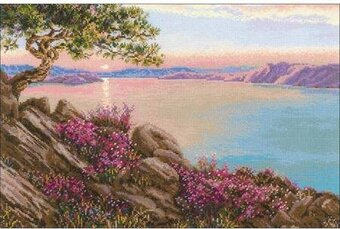 Lake Baikal - Cross Stitch Kit