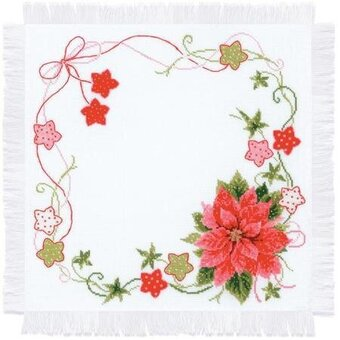 Christmas Table Topper - Cross Stitch Kit
