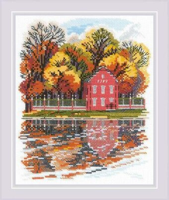 Kuskovo Dutch House - Cross Stitch Kit