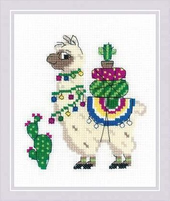 Llama - Cross Stitch Kit