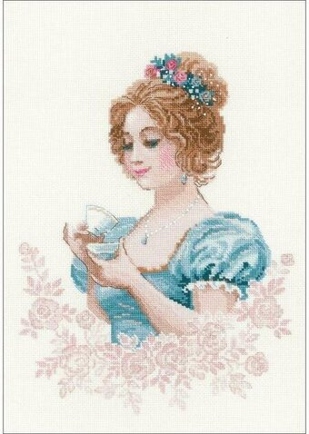 Tea Club - Cross Stitch Kit
