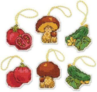 Harvest - Plastic Canvas Cross Stitch Kit