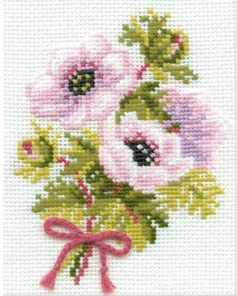 Anemones - Cross Stitch Kit