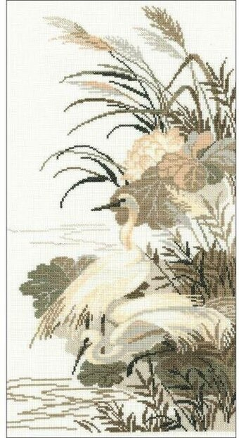 Herons - Cross Stitch Kit