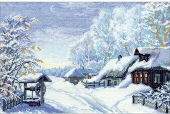 Russian Winter - Cross Stitch Kit
