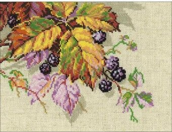 Blackberries - Cross Stitch Kit