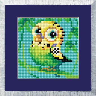 Parakeet - Diamond Painting Mosaic Kit