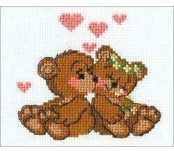 Little Imps - Valentine's Cross Stitch Kit