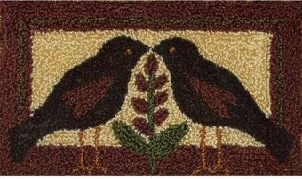Blackbirds Punchneedle Kit