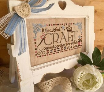 A Beautiful Craft (with charms) - Cross Stitch Pattern