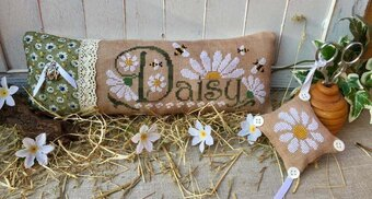 Daisy (with charms) - Cross Stitch Pattern