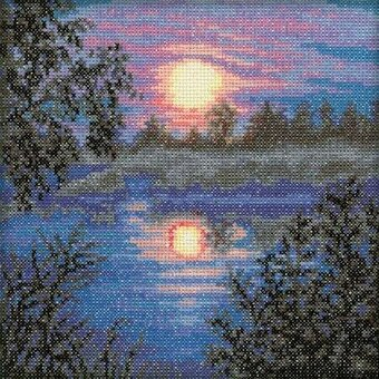 Evening - Cross Stitch Kit