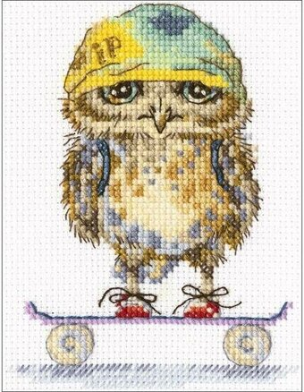 Skater - Cross Stitch Kit