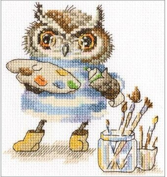 Magic Palette - Cross Stitch Kit