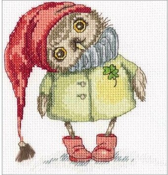 Winter Walk - Cross Stitch Kit