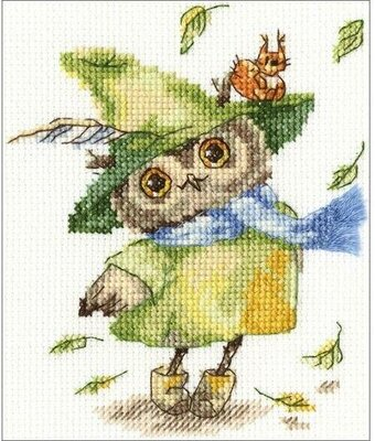 Leaf Fall - Cross Stitch Kit