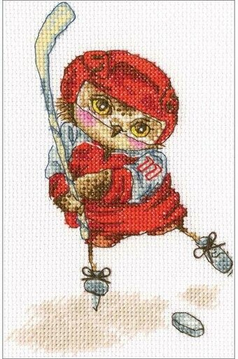 Shoot The Puck! - Cross Stitch Kit