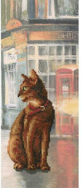 Cats In Town - Cross Stitch Kit