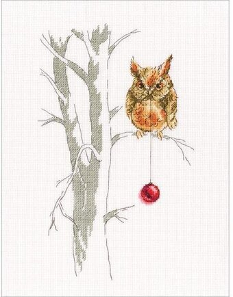 Waiting For A Holiday - Cross Stitch Kit