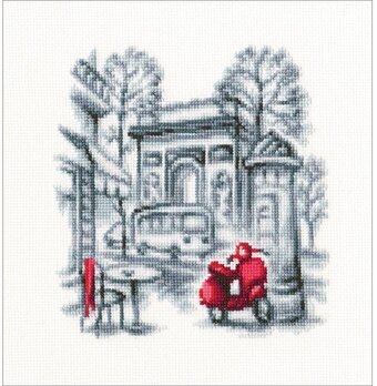 On The Streets Of Paris 2 - Counted Cross Stitch Kit
