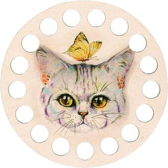 Buratini Thread Organizer - Kitty Cat