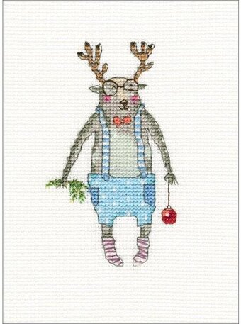 Here I Am - Christmas Cross Stitch Kit