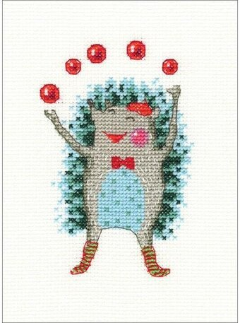 Holiday Mood - Christmas Cross Stitch Kit