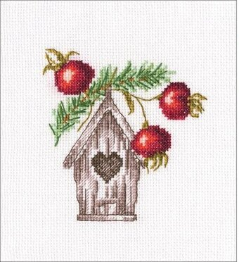Nesting Box - Christmas Cross Stitch Kit