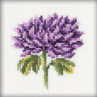 Chrysanthemums - Cross Stitch Kit