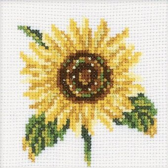 Sunflower - Cross Stitch Kit