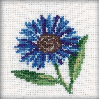 Cornflower - Cross Stitch Kit