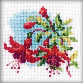 Fuchsia - Cross Stitch Kit